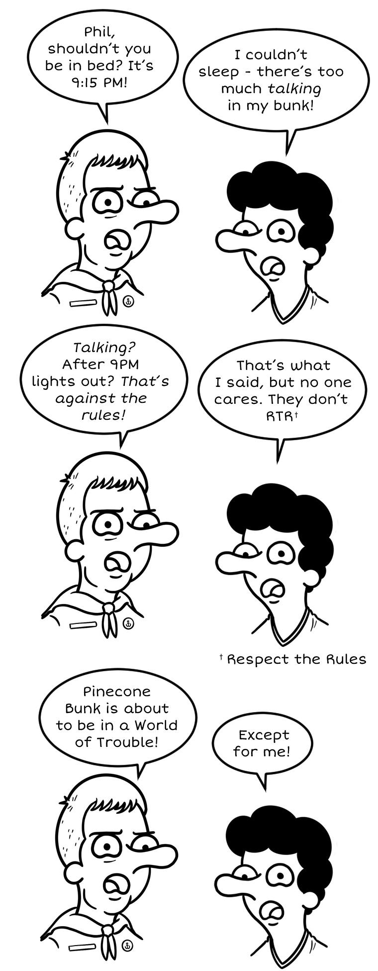 Rule Follower 3
